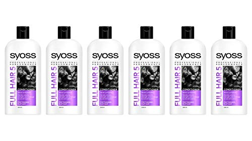 Syoss Full Hair 5 conditioner, 500 ml, 6 stuks (6 x 500 ml)