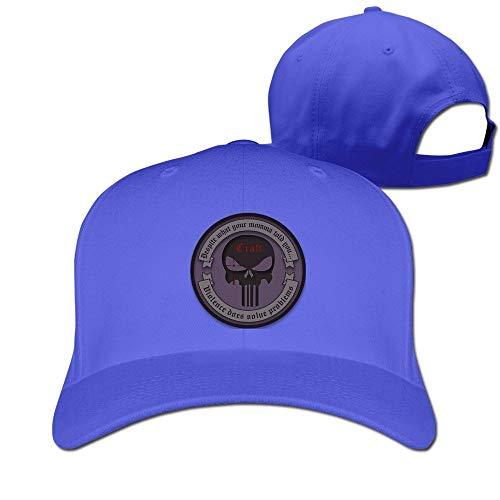 Youaini Chris Kyle Frog Foundation-American Sniper Ajustable Baseball Cap Cotton Royalblue