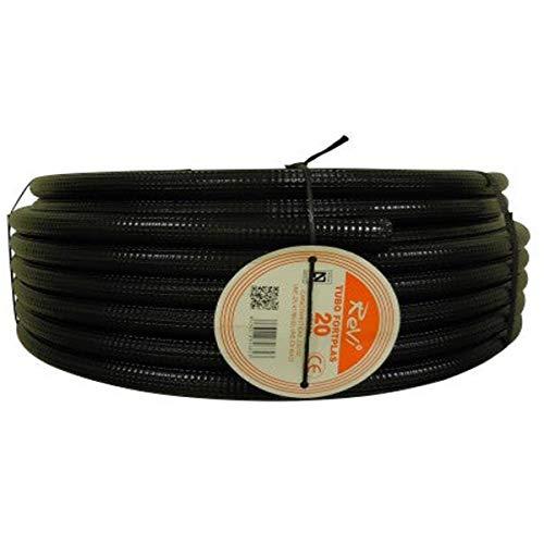 Tubo corrugado 20mm 25m【IGNIFUGO】No propagador de llamas • Tubos corrugados flexibles para...
