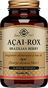 Solgar Acaí Extracto Cápsulas blandas - Envase de 60