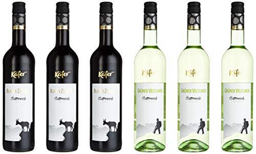 Feinkost Käfer Weinpaket Österreich (6 x 0.75 l)