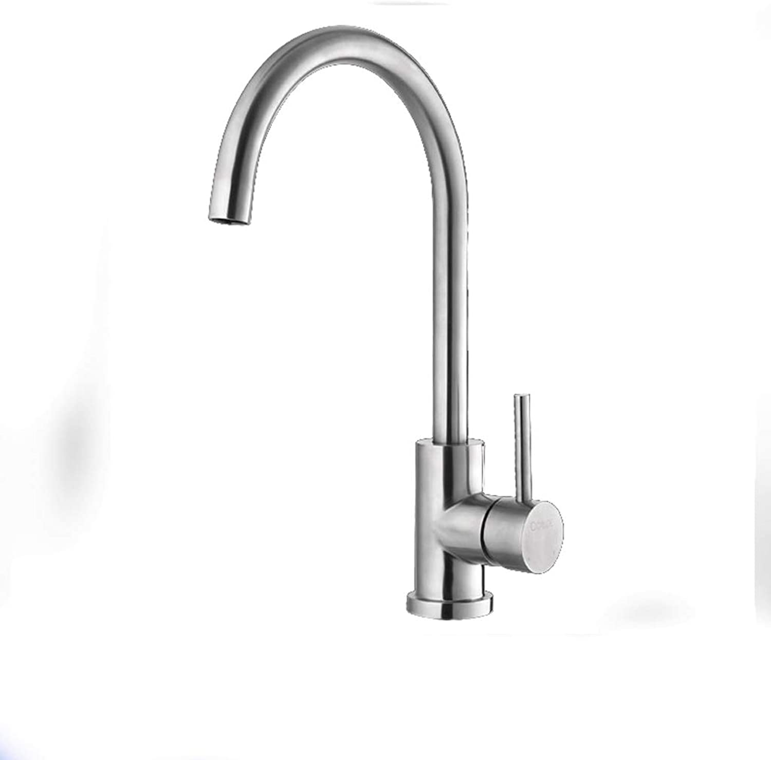 304 stainless steel kitchen sink wash basin faucet can be redated water-saving lead-free hot and cold water faucet (Size   A)