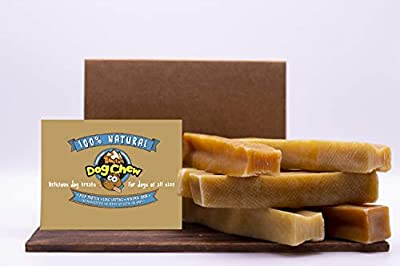 Tibetan Dog Chew - Himalayan Yak Cheese Dog Chew -100% Natural Dog Treats for Aggressive Chewers - 2 pounds Premium Grade Quality for Most Dogs Under 70 Lbs- Long Lasting, High Protein