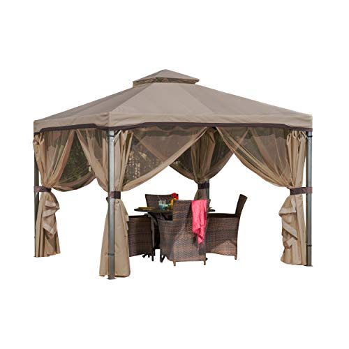 Great Deal Furniture Sonoma | Outdoor Fabric/Steel Gazebo...
