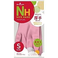 ショーワ ナイスハンドミュー厚手 Sサイズ ピンク NHMIA-SP