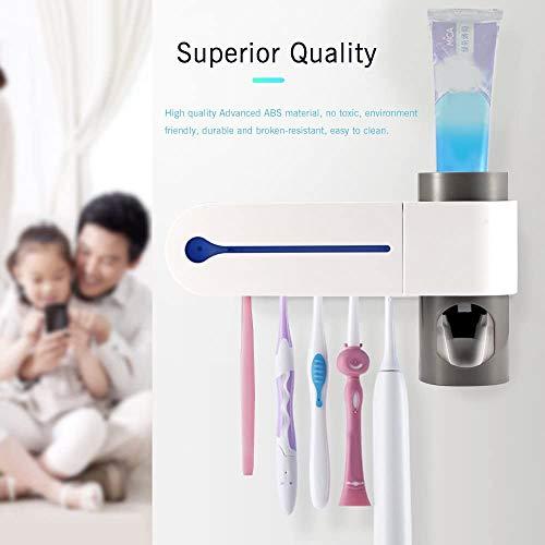 D&M UV-Desinfektion Zahnbürstenhalter Schnelle Sterilisation Trocknen Reinigung Zahnbürste Gesunde Bad-Accessoires