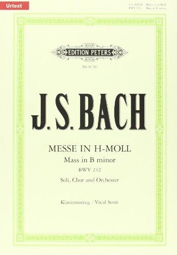 Messe H-Moll BWV 232. Klavierauszug
