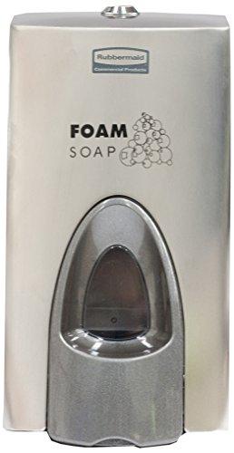 Rubbermaid Commercial Products 800 ml, enrichi en mousse-Distributeur de savon-Acier inoxydable-Lot de 10