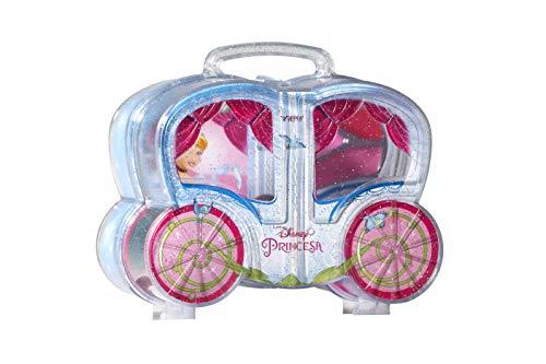 Carruagem Cinderela com maquiagem infantil, View