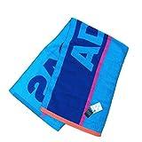 adidas(アディダス) スポーツタオル 34×110cm ラボーナ (ブルー)