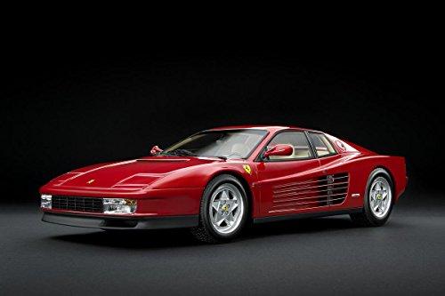 Gifts Delight Laminated 36x24 Poster: Ferrari Testarossa 1989