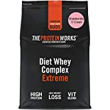 Batido Dietético de Proteína Whey | Sabor Fresas con nata | 500 g de Diet Whey Complex Extreme