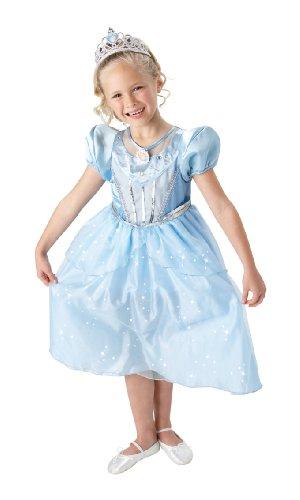 Rubie's-déguisement officiel - Disney- Déguisement Costume Sparkling Cendrillon - Taille L- I-884647L