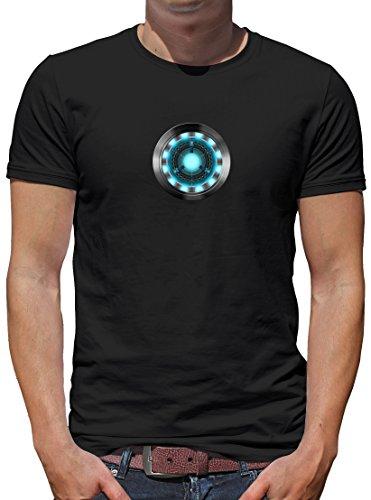 TShirt-People Arc Reactor - Camiseta para hombre Negro M