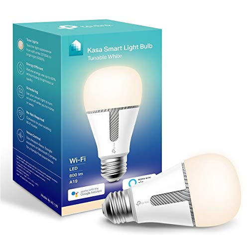 Our #3 Pick is the TP-Link Kasa Tunable Smart Light Bulb