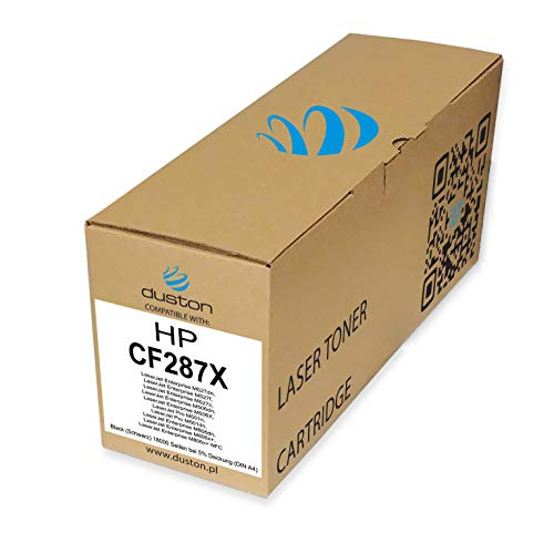 CF287X, 87X Schwarz Duston Toner kompatibel zu HP Laserjet Pro M501 Enterprise M506 M527