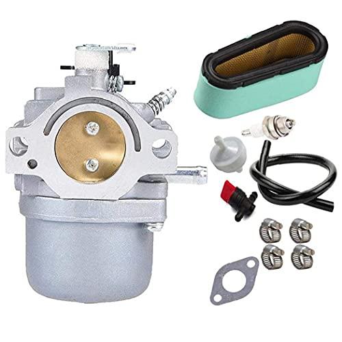 DierCosy Tools Filtro del carburador Kit carburador Segadora Aire Bobina de Encendido Juego de Big Bore Accesorios Pistón para la Segadora
