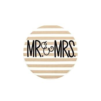 Happy Everything Decorative Celebration Mini Attachment  Mr & Mrs Mini