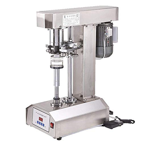 txmachine® Klebebanddichtungen Elektrische Dosendichtmaschine Weißblech Verschließmaschine Automatische dosen abdichtung maschine (220V/50HZ, Touch Screen Version)