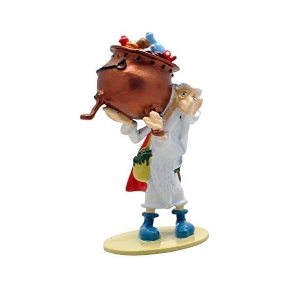PIXI Figura de colección Astérix Panoramix llevando el caldero 2346 (2018) 1
