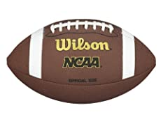 Official size Recommended for players ages 14+ NCAA branded composite cover Soft feel, excellent durability