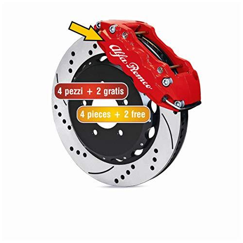 QCYSTBTG per Alfa Romeo Giulia 147156159 Mito Stelvio Q4 Sportiva Giulietta Adesivi per Auto Accessori per Auto Tronco in Fibra di Carbonio Decal