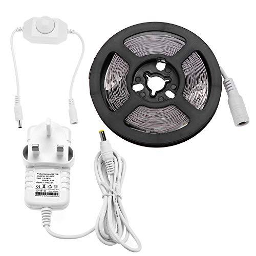 Juego de 4 luces LED regulables, 240 ledes, kit flexible de luces LED para dormitorio, cocina, debajo del armario, lámparas de maquillaje para tocador, 110-24