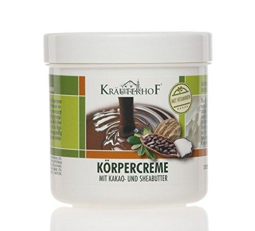 Kräuterhof Crema corporal con manteca de cacao y karité