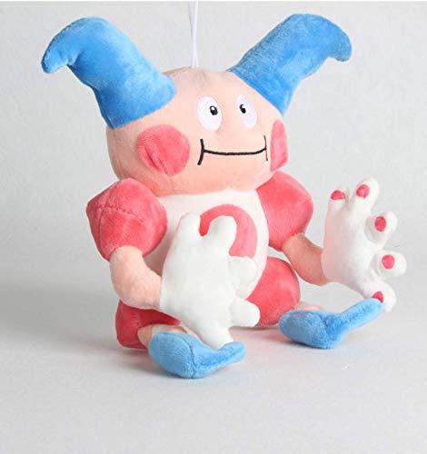 lili-nice Niedlicher Anime Elf Mr. Mime Plüschtier Puppen Mr. Mime Plüschtier Weiche Gefüllte Puppe Feine Sammlung Geschenke 20Cm