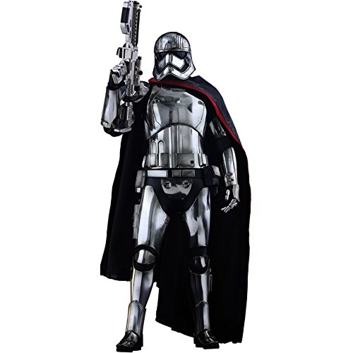 Hot Toys Figura Escala 1: 6del Capitán Phasma de la película Star Wars: El Despertar de la Fuerza