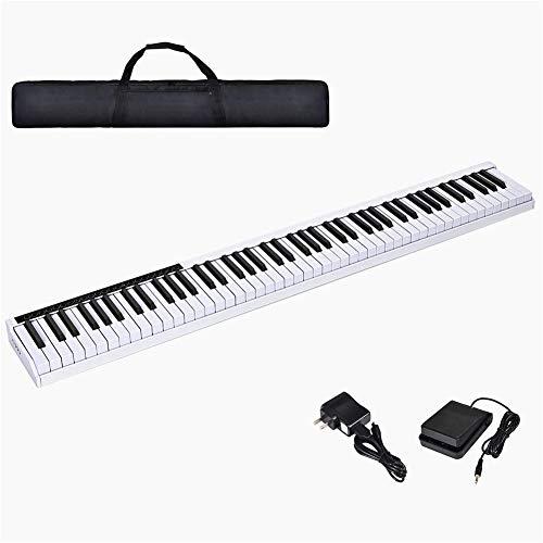 Ning Night 88 Key Tragbare intelligente Bluetooth-elektronische Klavier-Tastatur-Musik-Set ultradünne multifunktionalen elektronisches Piano Lernspielzeug