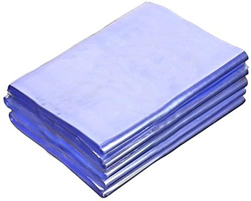 JeeKoudy Bolsa de Embalaje de 100 Uds, Película termoencogible, PVC Transparente, Embalaje retráctil, Bolsa de vacío, Protector de Sellado de Envoltura