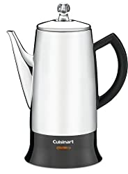 cuisinart classic 12-cup stainless-steel percolator