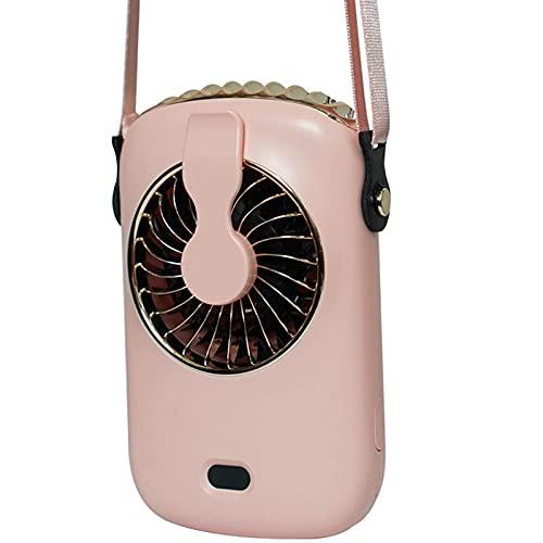Intoowind Ventilatore portatile da appendere in vita personale, batteria ricaricabile tramite USB, silenzioso, per campeggio, arrampicata, pesca, viaggi, bicicletta, all'aperto, casa, blu