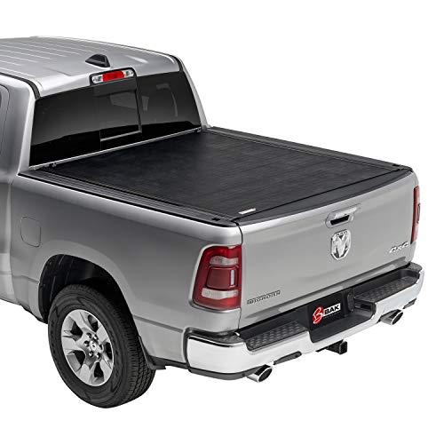 BAK Revolver X2 Hard Rolling Truck Bed Tonneau Cover | 39227 | Fits 2019 - 2021 Dodge Ram 1500, Does Not Fit With Multi-Function (Split) Tailgate 5' 7' Bed (67.4')