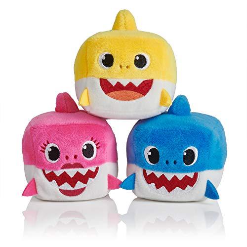 WowWee Peluche bébé Requin Officiel Assortiment de Cubes de Chanson Variété de Styles – Couleur aléatoire