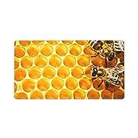 ミツバチと蜂蜜 honey 超大型マウスパッド ゲーミングマウスパッド キーボードパッド 75*40cm 厚さ3mm オフィス自宅 多機能高級感 おしゃれ 耐久性が良い 滑り止め マウスパッド ゲーム オフィス ホーム用 男女兼用