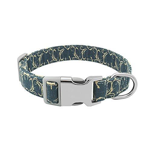16 Tipos Etiquetas De Collares para Perros Mascotas Collares Ajustables con Etiquetas De Plástico Y Metal Antipérdida para Adiestramiento Perros Pequeños, Medianos Y Grandes para Hombres Y Mujer