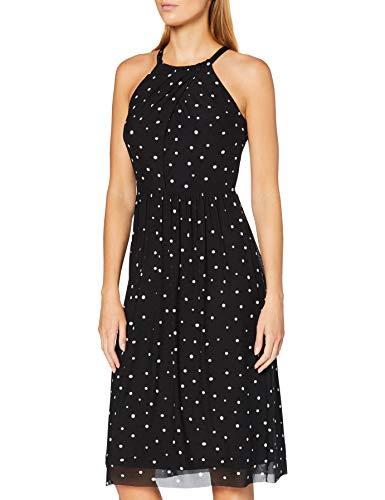 ESPRIT Collection Damen 040EO1E327 Kleid, 003/BLACK 3, XS