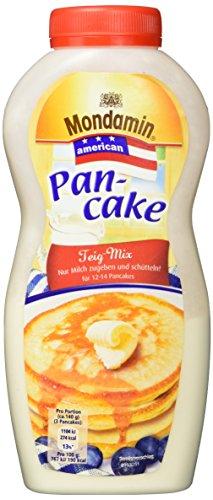 Mondamin American Teig-Mix für eine schnelle Zubereitung Pancake Shaker nach amerikanischer Art, 215 g, 1 Flasche