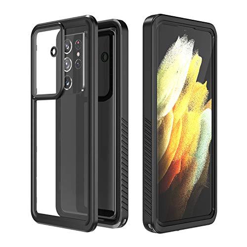 """Custodia Impermeabile per Samsung Galaxy S21 Ultra, IP68 Protettivo Waterproof Cover Case Impermeabile con Toccare Responsive / Pellicola Protettiva (Galaxy S21 Ultra 6.9"""")"""