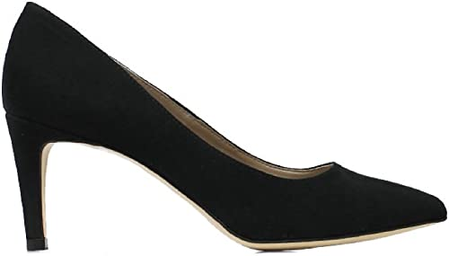 Will's Vegan chaussures Smart Courts noir Faux Suede
