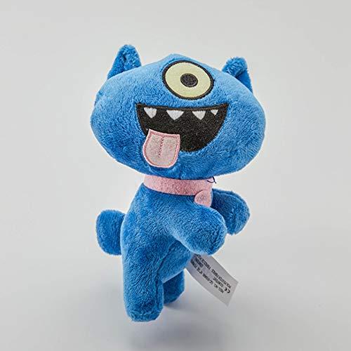 WANGY 18cm Juguete de Dibujos Animados Anime Juguetes de Peluche Feo Regalo de cumpleaños niños niños