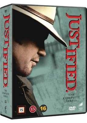 Justified Complete Series - 18-DVD NON-US Set Box Milwaukee Ranking TOP16 Mall Lawman