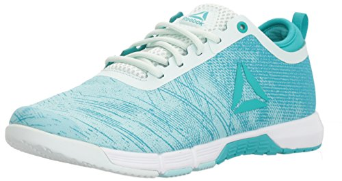 Reebok Women's Speed Her TR Sneaker, Blue Lagoon/Solid Teal/Opal/White/Silver, 9 M US