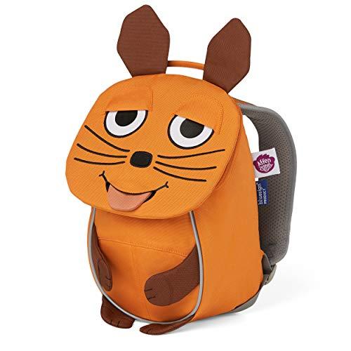 Wdr Mouse - Zaino per l'asilo per bambini da 1 a 3 anni, colore: Arancione