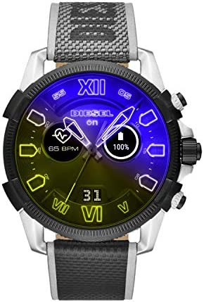 Diesel On Men s Gen 4 Full Guard 2 5 HR Heart Rate Nylon Touchscreen Smart Watch Color Multicolor product image