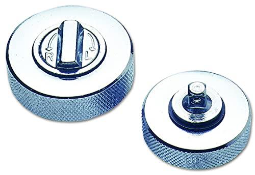 Laser 0283 Separador de rótulas Tipo Tenedor, Color Plateado
