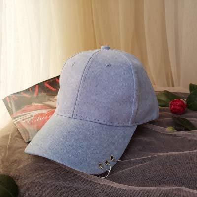 qqyz2323 Winter Herfst Verdikking Suède Stof Mannen Vrouwen Honkbal Caps Hoge Kwaliteit Katoen Hip Hop Cap Hoeden Bone Snapback hemel blauw
