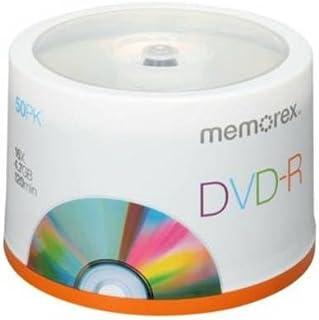 MEM05639 - Memorex DVD Recordable Media - DVD-R - 16x - 4.70 GB - 50 Pack Spindle